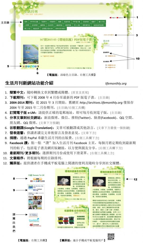 生活月刊新網站功能v2